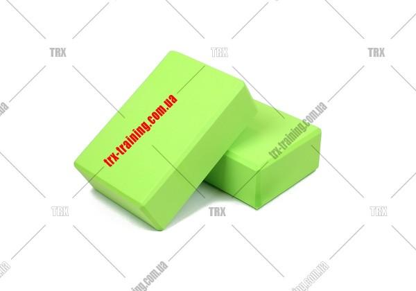 Блоки для йоги: Цвет - салатовый