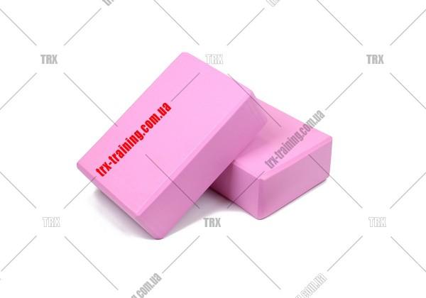 Блоки для йоги: Цвет - розовый