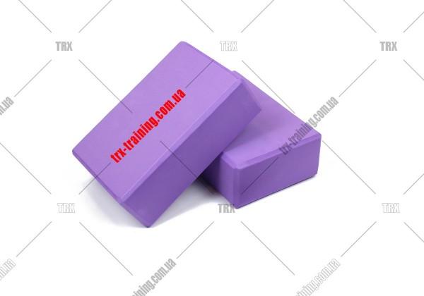 Блоки для йоги: Цвет - фиолетовый