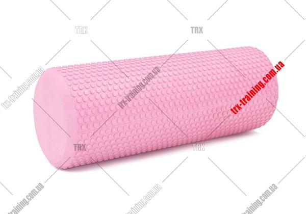 Масажний валик Foam Roller 30: Массажный валик розовый
