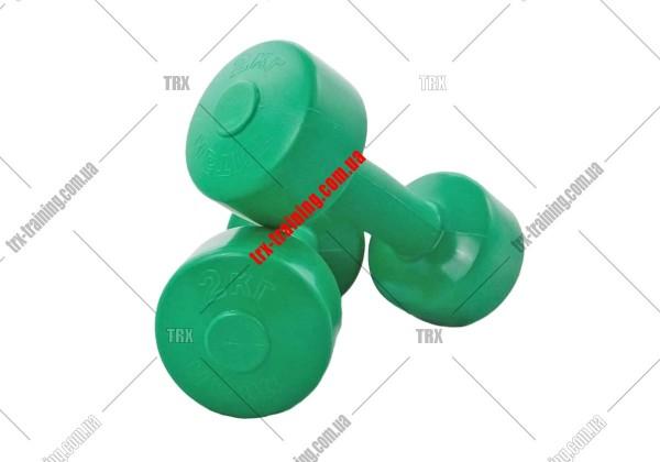 Гантели для фитнеса пластиковые (пара)