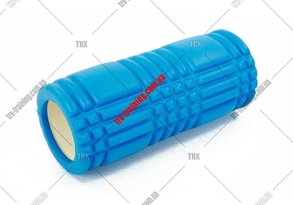 Массажный ролик Grid Roller 1.0: цвет - синий