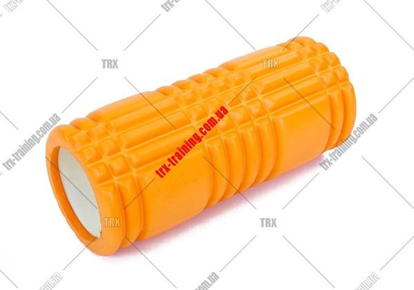 Массажный ролик Grid Roller 1.0: цвет - оранжевый