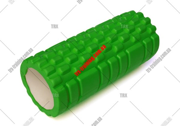 Масажний ролик Grid Roller 1.1: цвет - зеленый