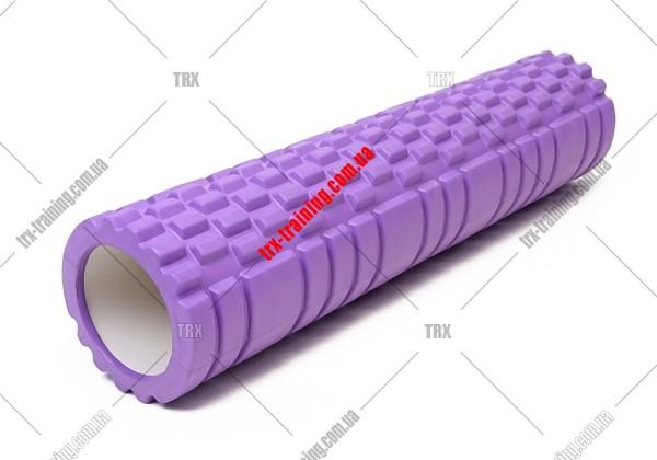 Массажный ролик Grid Roller 3.1: цвет - фиолетовый