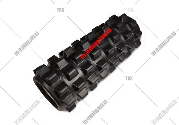 Массажный ролик Grid Roller PRO 1.0: цвет - черный