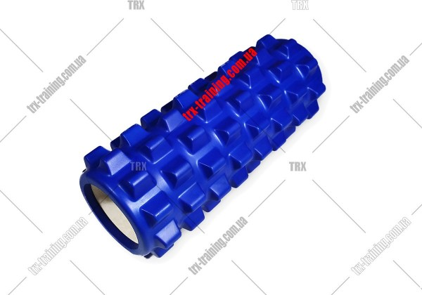 Масажний ролик Grid Roller PRO 1.0: цвет - синий