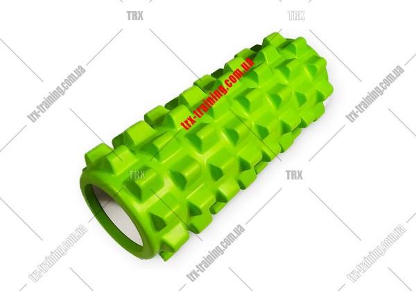 Массажный ролик Grid Roller PRO 1.0: цвет - салатовый