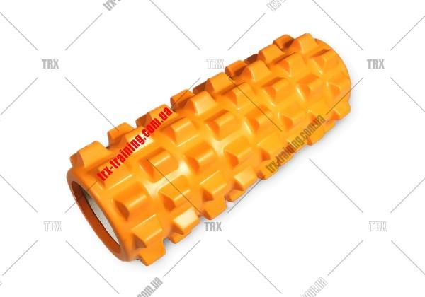 Массажный ролик Grid Roller PRO 1.0: цвет - оранжевый