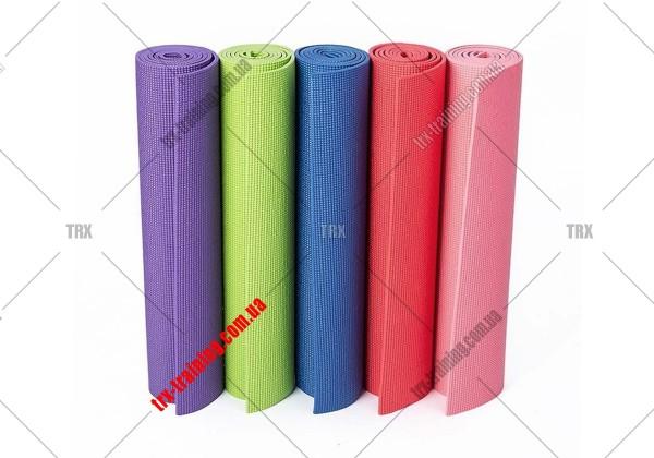 Килимок для йоги ПВХ (PCV) 6 мм
