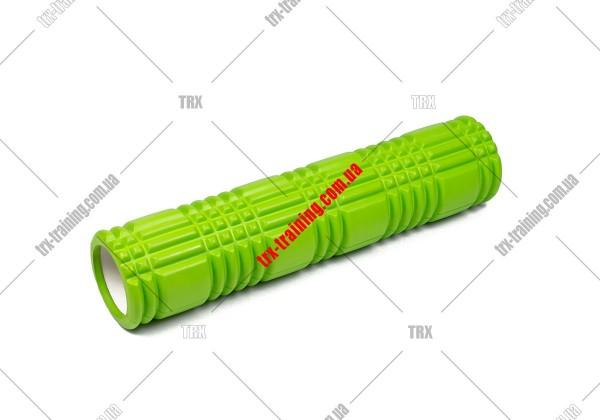 Массажный ролик Grid Roller 3.0: цвет - салатовый