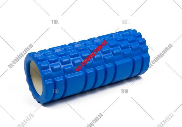 Масажний ролик Grid Roller 1.1: цвет - синий