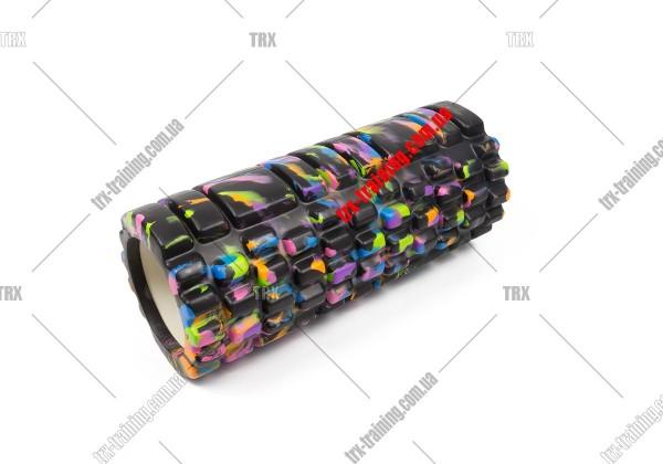 Массажный ролик Grid Roller 1.1 Multicolor: мультиколор черный