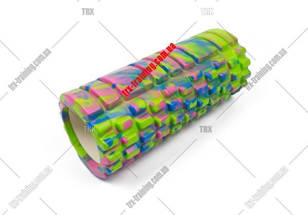Масажний ролик Grid Roller 1.1 Multicolor: мультиколор зеленый
