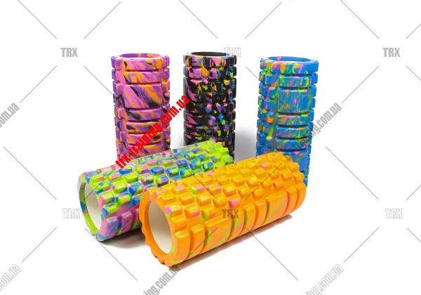 Масажний ролик Grid Roller 1.1 Multicolor