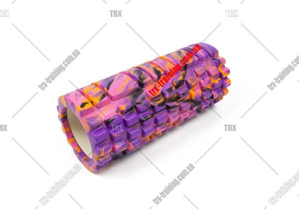 Массажный ролик Grid Roller 1.1 Multicolor: мультиколор фиолетовый