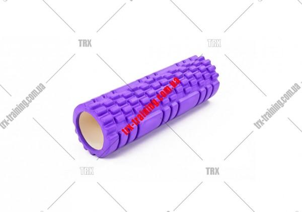 Масажний ролик Grid Roller 2.1: цвет - фиолетовый