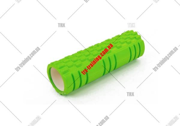 Масажний ролик Grid Roller 2.1: цвет - салатовый