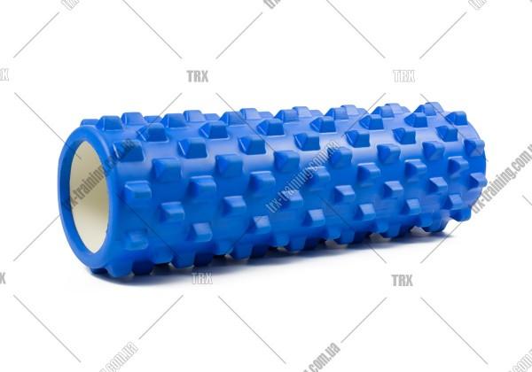 Массажный ролик Grid Roller PRO 2.0: цвет - синий