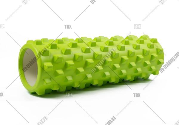 Массажный ролик Grid Roller PRO 2.0: цвет - салатовый