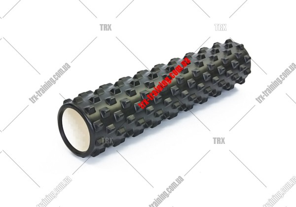 Массажный ролик Grid Roller PRO 3.0: цвет - черный