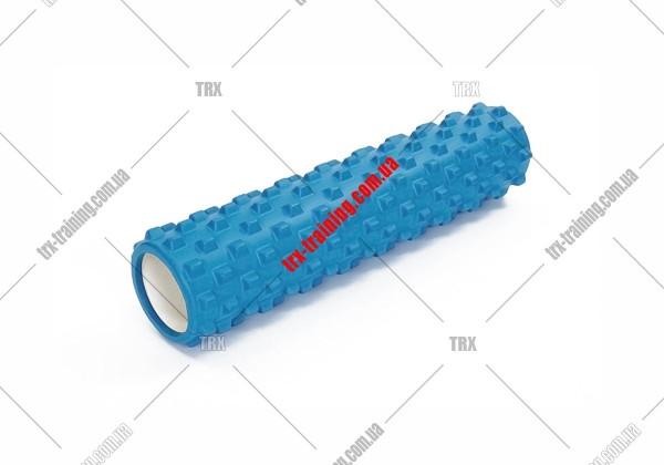 Массажный ролик Grid Roller PRO 3.0: цвет - синий