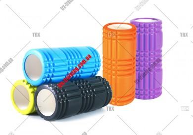 Массажный ролик Grid Roller 1.0: цвет - фиолетовый