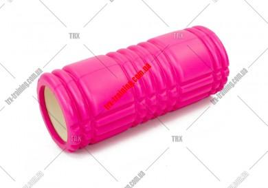 Масажний ролик Grid Roller 1.0: цвет - фиолетовый