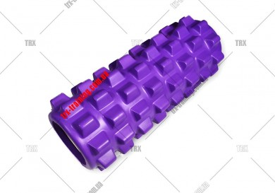 Масажний ролик Grid Roller PRO 1.0: цвет - фиолетовый
