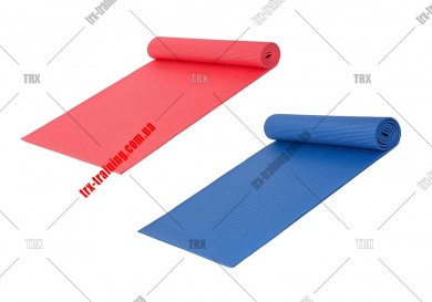 Килимок для йоги та фітнесу ПВХ (PVC) 6 мм