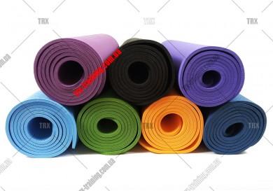 Килимок для фітнесу та йоги TPE одношаровий