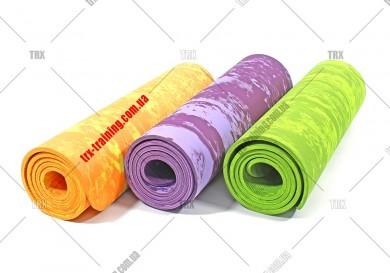 Коврик для фитнеса и йоги PER 8 мм однослойный