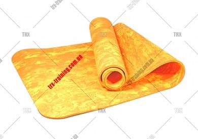 Килимок для фітнесу та йоги PER 8 мм одношаровий
