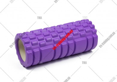 Масажний ролик Grid Roller 1.1: цвет - красный