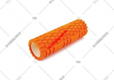 Масажний ролик Grid Roller 2.1: цвет - оранжевый
