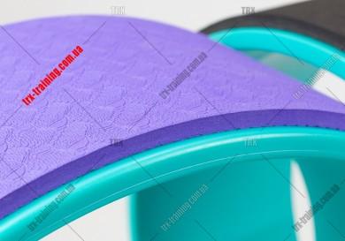 Колесо для йоги Yoga Wheel 33: фиолетовое EVA