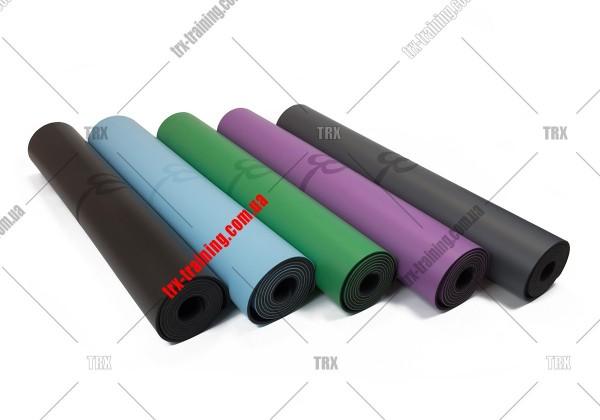 Коврик каучуковый для йоги профессиональный