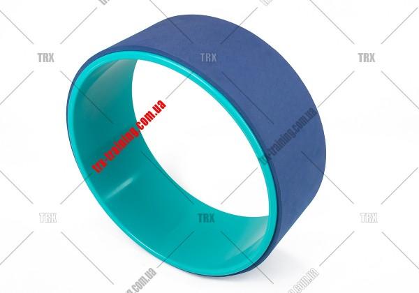 Колесо для йоги Yoga Wheel 33: синее TPE