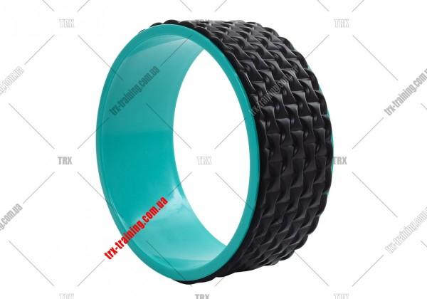 Колесо для йоги Yoga Wheel 33: черное EVA