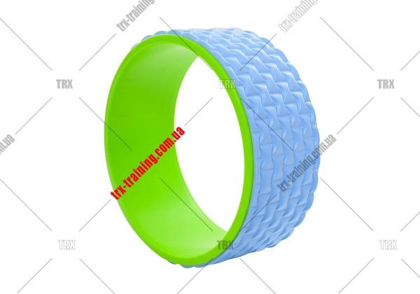 Колесо для йоги Yoga Wheel 33: голубое EVA
