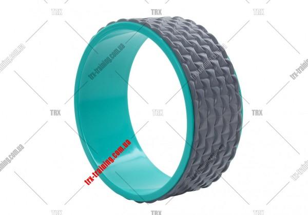 Колесо для йоги Yoga Wheel 33: серое EVA