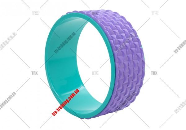Колесо для йоги Yoga Wheel 33: сиреневое EVA